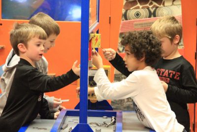 Kids playing at the Children's Interactive Museum